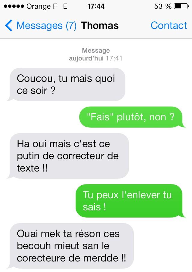 merci correcteur22