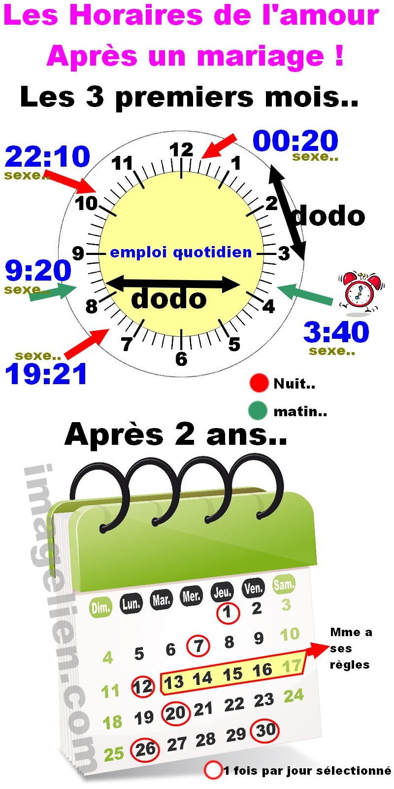 horaire mariage 332
