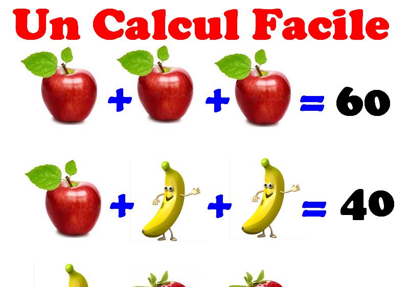Un calcul Facile pour tout le monde ! (avec solution ...