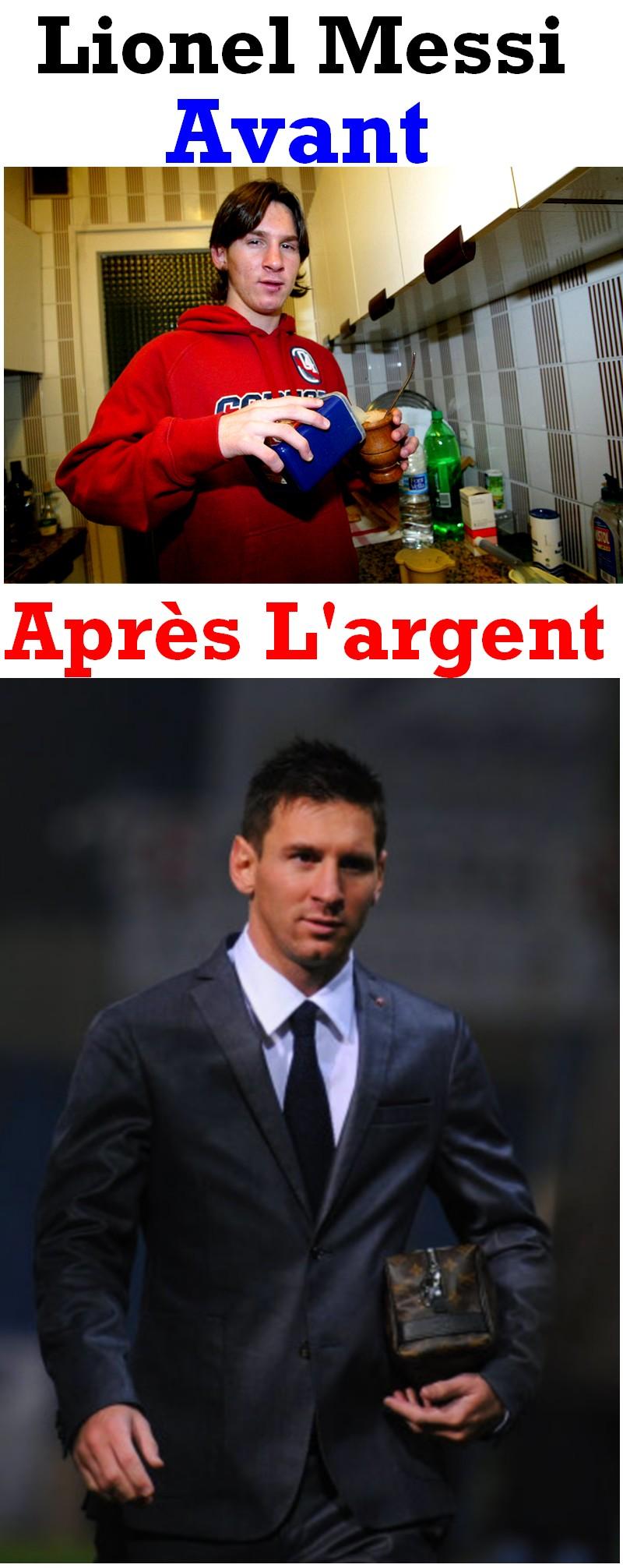 La Pulga De Las Vegas >> Lionel Messi Avant Et Après L'argent – Image Lien