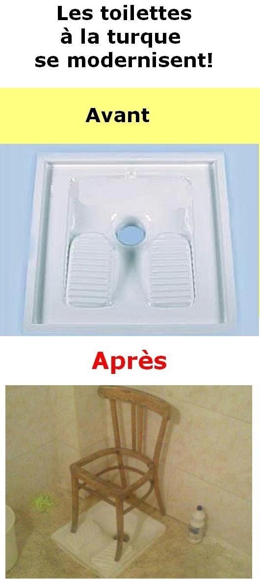 les toilettes 224 la turque se modernisent image lien